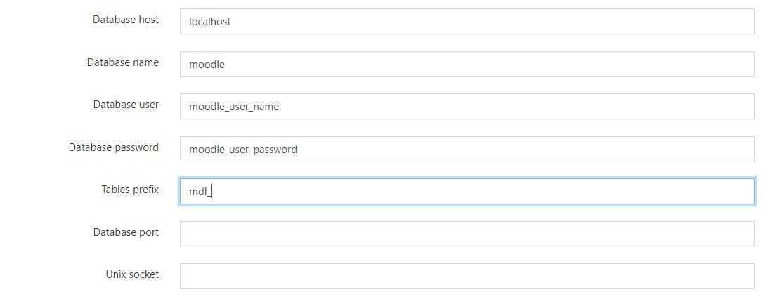 Configuration de l'accès à la base de données